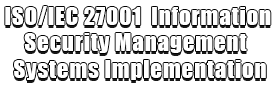ISOIEC 27001 Information Security Management Systems Implementation Logo